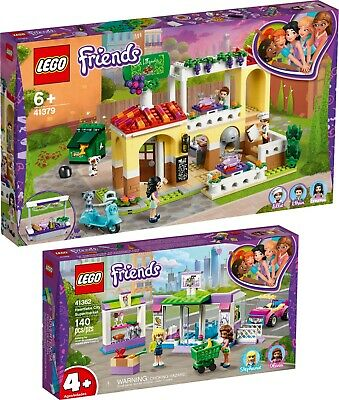 LEGO Friends 41379 41362 Supermarkt und Restaurant von Heartlake City N7/19