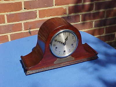 1932 1st CITY OF LONDON REGIMENT WESTMINSTER CHIME NAPOLEON HAT MANTEL CLOCK