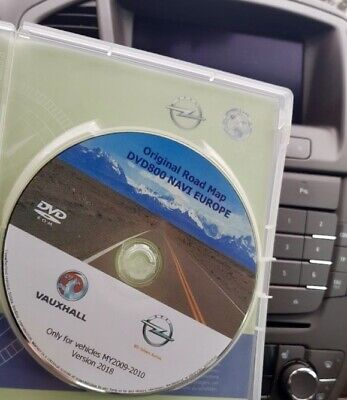 ORIGINAL OPEL NAVI DVD800 MY2009/2010 Europe VERSION 2018