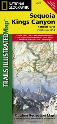 Sequoia/kings Canyon National Park Trails Illustrated National ... 9781566952989