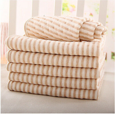 Newborn Baby Changing Soft Cotton Pad Liner Cover Infant Soft Diaper Mat New FA