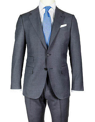 Caruso Suit in Slate Gray from Super 130'S Wool