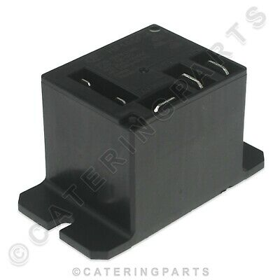 Miniature Mains Power Relay 12Vdc Operating Coil 20A Spno Spnc Push Fit Spades