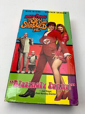AUSTIN POWERS THE SPY WHO SHAGGED ME - VHS Tape VCR Tape - Rewound