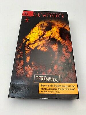 BOOK OF SHADOWS: BLAIR WITCH 2 - VHS Tape VCR Tape - Rewound