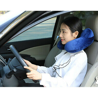 Travel Inflatable Pillow U-shaped Soft Neck Sleeping Air Cushion PVC Outdoor
