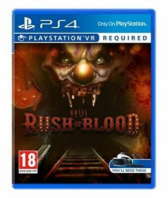 Until Dawn Rush of Blood - PSVR - PS4 - New & Sealed