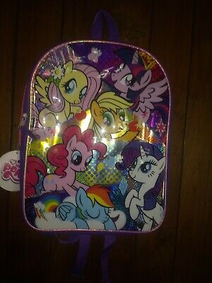 My Little Pony Girls Kids Backpack School Book Bag Padded Straps 17 inches