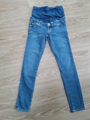f9448f4620a6d TOPSHOP MATERNITY JEANS Size 8 SKINNY JEANS OVER BUMP STYLE EXCELLENT  CONDITION