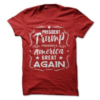Donald Trump President T-Shirt Making Make America Great Again Election 2020 Tee