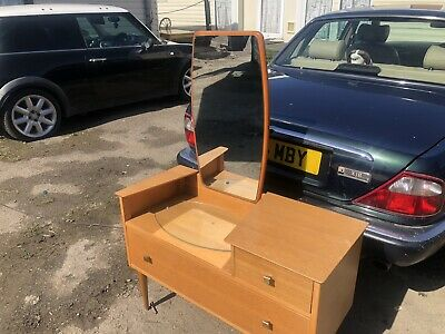 Stunning Used Vintage Retro Dressing Table Mint Condition