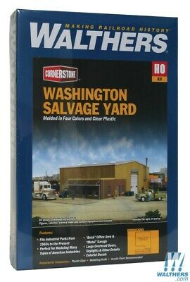Walthers 933-2928 Washington Salvage Yard Kit : HO Scale