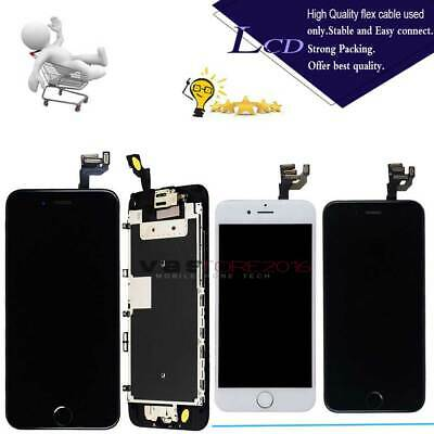 For iPhone 7 6S 6 6S Plus 7 Plus X LCD Display+Touch Screen Replacement+Button