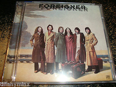 FOREIGNER sealed cd FOREIGNER W/ four bonus tracks free US shipping