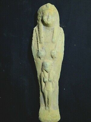 ANCIENT HIEROGLYPH USHABTI ANCIENT EGYPTIAN ANTIQUE Shabti 1476-1378 BC
