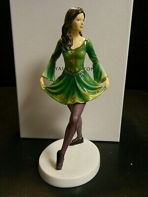 Royal Doulton Dances Of The World Irish Celtic Dance HN5569 In Original Box Exc