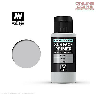 Vallejo 73.601 Surface Primer - GREY 60ml Bottle