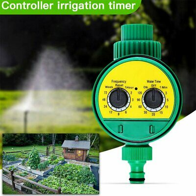 Automatic Water Timer Irrigation Controller Digital Watering Tap Timer Garden %N