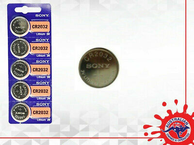 Brand New sealed Sony CR2032 3V Lithium battery Expiry 2029 Genuine ECR2032