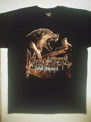 MOONSPELL T-Shirt Wolfheart Tiamat Paradise Lost Dying Bride Samael Gothic Doom