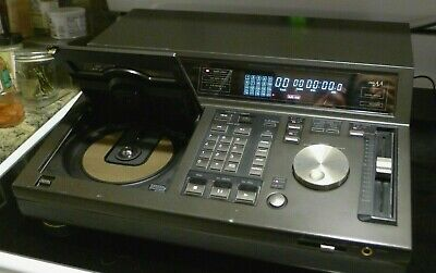 Tested - Vintage Technics SL-P1300 Professional CD Player