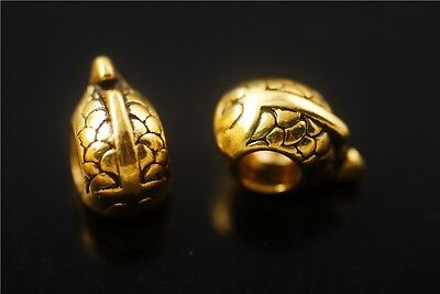 High Quality Charm Golden Metal Beads Loose Spacer Bead Jewelry Makings Bracelet