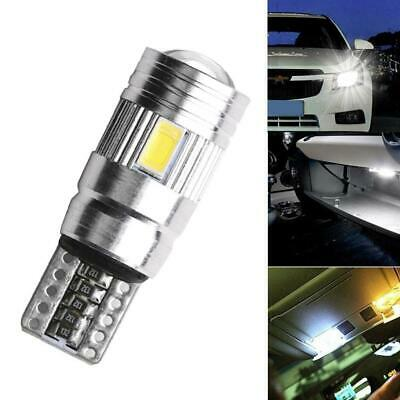 2x T10 501 194 W5W 5630 LED 6SMD Car HID CANBUS Error Free Wedge Light Bulb H8R2