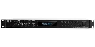 Solid-State Media Player with Bluetooth/USB/SD/Aux Inputs, 1U