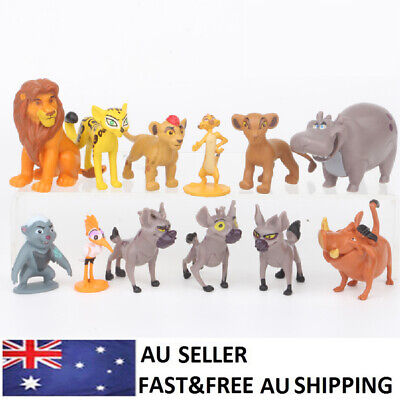 The Lion King Simba Mufasa Pumbaa Action Figure Toys Kids Gift 12PCS Cake Topper