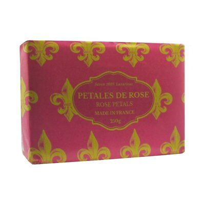 Luxurious French Soaps - Crushed Rose Petals 250g - Savon de Marseille