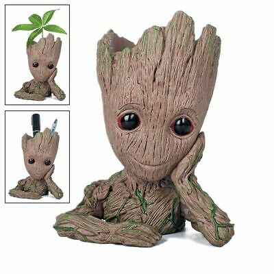Flowerpot Treeman Baby Groot Succulent Planter Cute Green Plants Flower Pot AU