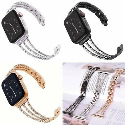 Stainless Steel Bracelet Style Band For Apple Watch 38 40 42 44mm Series1 2 3 4