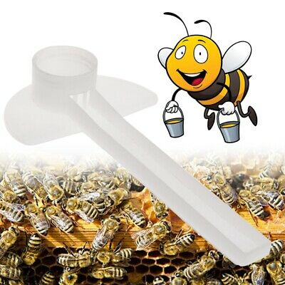10pcs Bee Feeder Water Drink Feeding Beekeeping Apiculture Tool Beehive Plastic