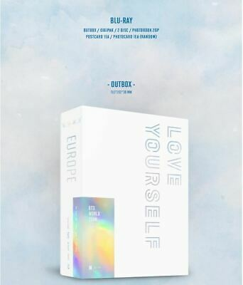 [BTS] - BTS WORLD TOUR 'LOVE YOURSELF' EUROPE BLU-RAY PACKAGE + Tracking
