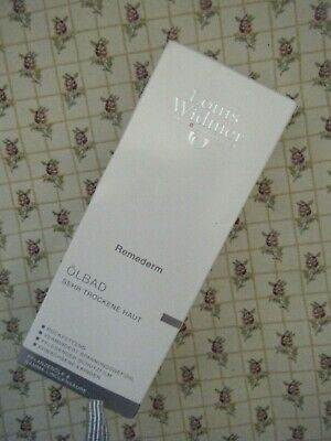 Louis Widmer Remederm Oil Bath For Dry Skin 250 Ml New/Boxed