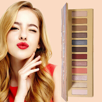2019 Eyeshadow Palette 12 Color Naked Matte Pearl Eye Shadows Waterproof Natural