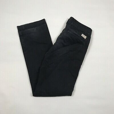Boys Gant Chino Trousers Size 2XL 13/14 Years Smart Casual Blue / Faded Black