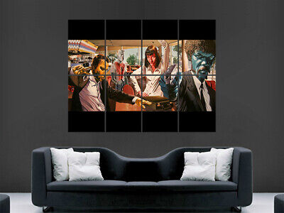 Pulp Fiction Movie Poster Print Film Classic Art Wall Picture Print Large Huge