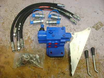 5610 6610 7610 Ford Tractor Double Spool Remote Hydraulic Valve Kit 🎯