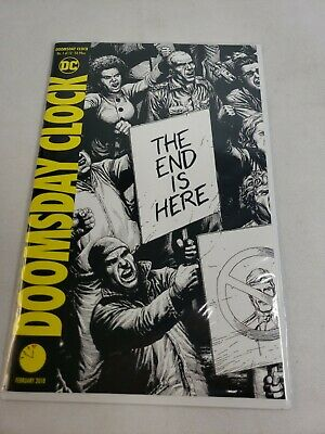 Doomsday Clock No.1 Of 12 February 2018 Variants DC Comics The End Is Near Mint