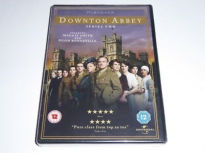 Downton Abbey - The Complete Second Series 2 - NEW DVD SET - Downtown Season Two