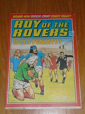 Roy Of The Rovers 29Th March 1980 Football British Weekly_