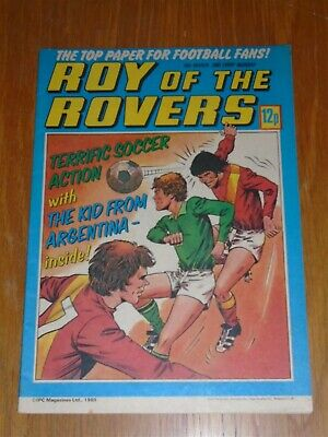 Roy Of The Rovers 15Th March 1980 Football British Weekly_