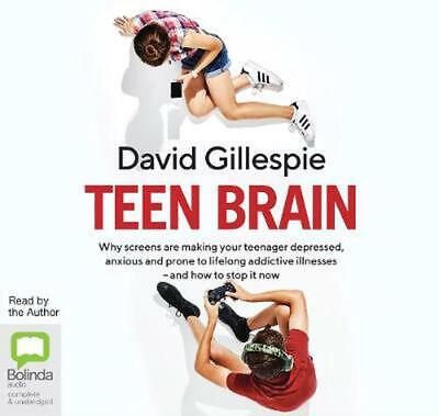 Teen Brain by David Gillespie Compact Disc Book Free Shipping!