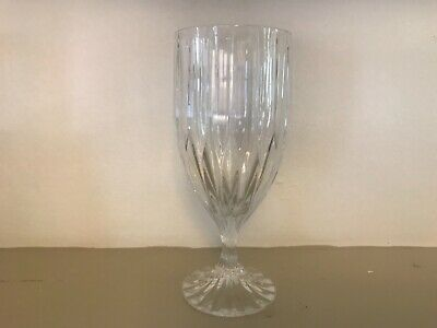 Mikasa PARK LANE Ice Tea Goblet Glass Clear Crystal Stemwear
