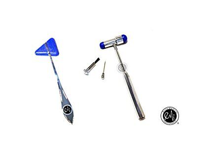 US Seller - EMI Taylor and Buck Medica Neuroligical Reflex Hammer - 2 Hammer Set