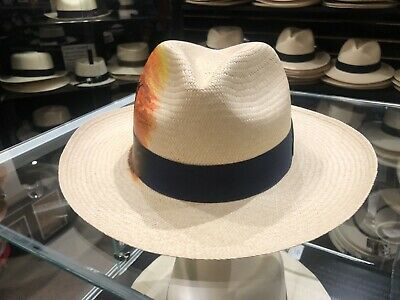 cd381331f PANAMA HAT CO OF THE PACIFIC OPTIOMO 6 7/8 Small 55cm SOFT MONTE ...