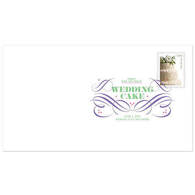 US 5000 Wedding Cake Two Ounce DCP FDC 2015