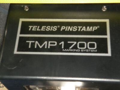 Telesis Technologies TMP1700 Pinstamp Cut Cable GUARANTEED