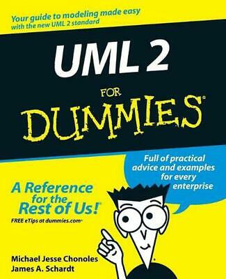 UML 2 for Dummies by Michael Jesse Chonoles (English) Paperback Book Free Shippi